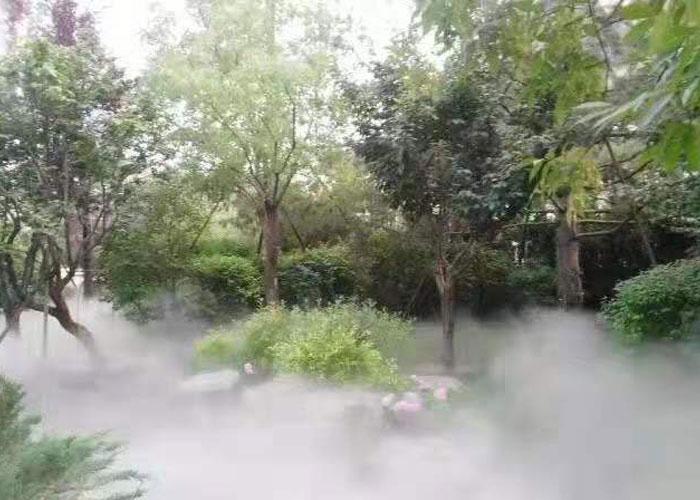 重庆景观人造雾设备,人造雾
