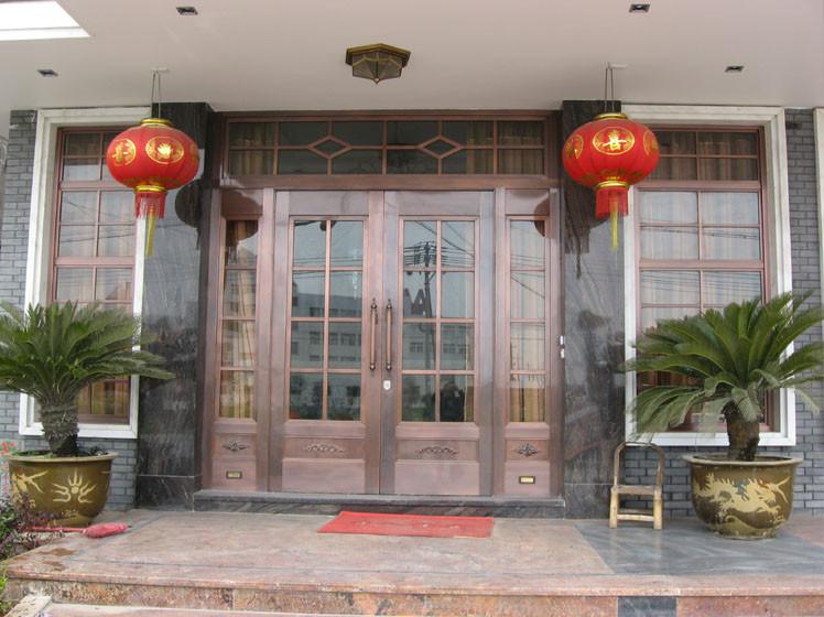 广州别墅铜门厂家,别墅铜门