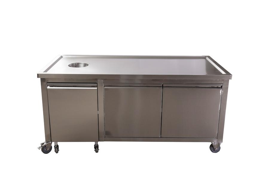 舟山工作台按需定制 铸造辉煌 无锡市永会厨房设备制造供应