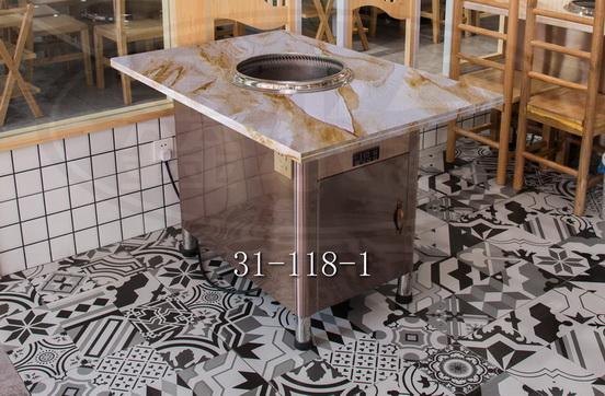 舟山食堂火锅台 无锡市永会厨房设备制造供应