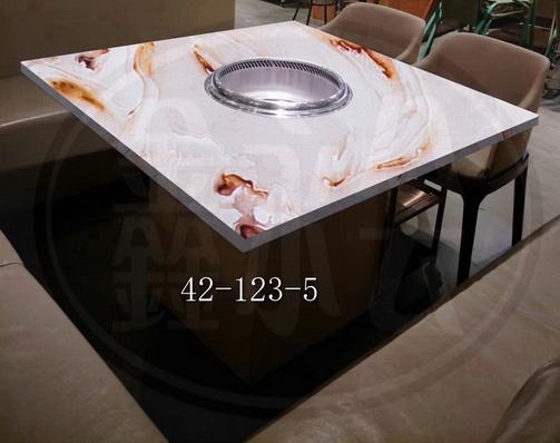嘉興火鍋桌定做 鑄造輝煌 無錫市永會廚房設備制造供應