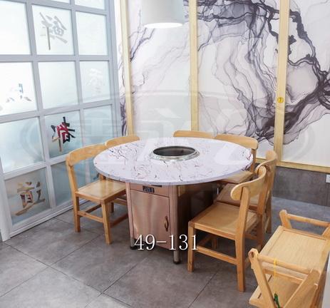 衢州火锅桌维修电话 和谐共赢 无锡市永会厨房设备制造供应