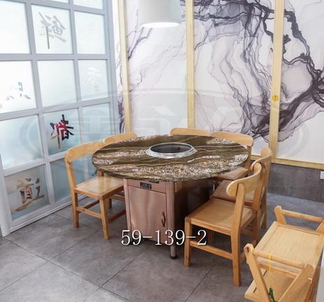 臺州火鍋桌多少錢 信譽保證 無錫市永會廚房設備制造供應