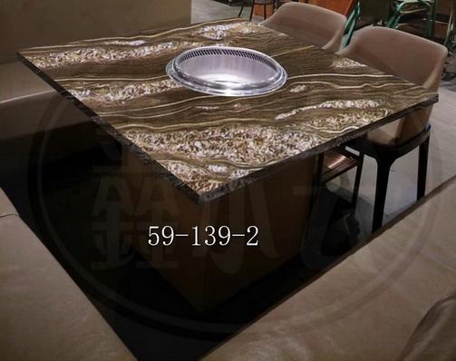 舟山火鍋桌價格如何計算 值得信賴 無錫市永會廚房設備制造供應