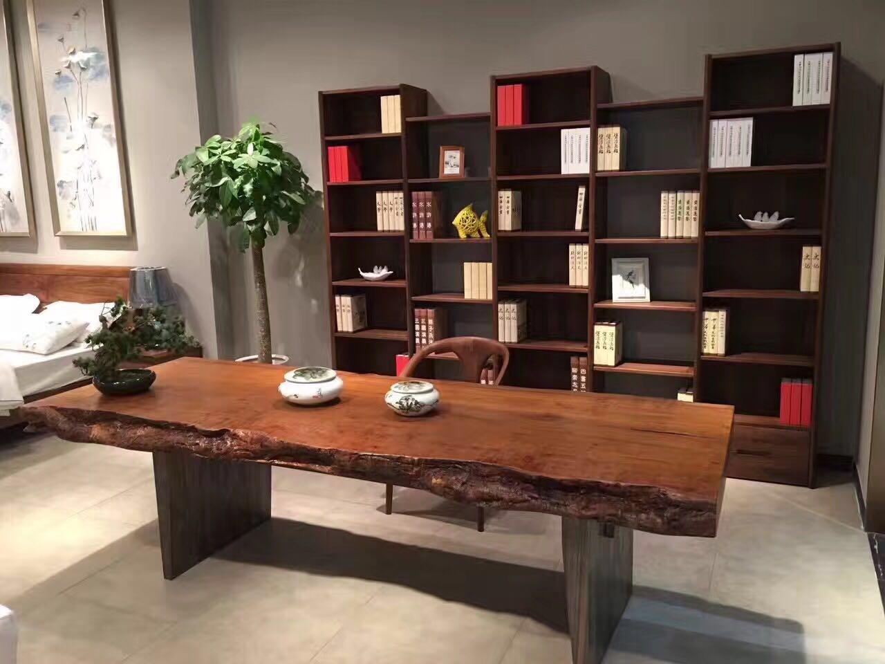 优质黑胡桃实木茶几哪家好 欢迎咨询「上海名格木业供应」