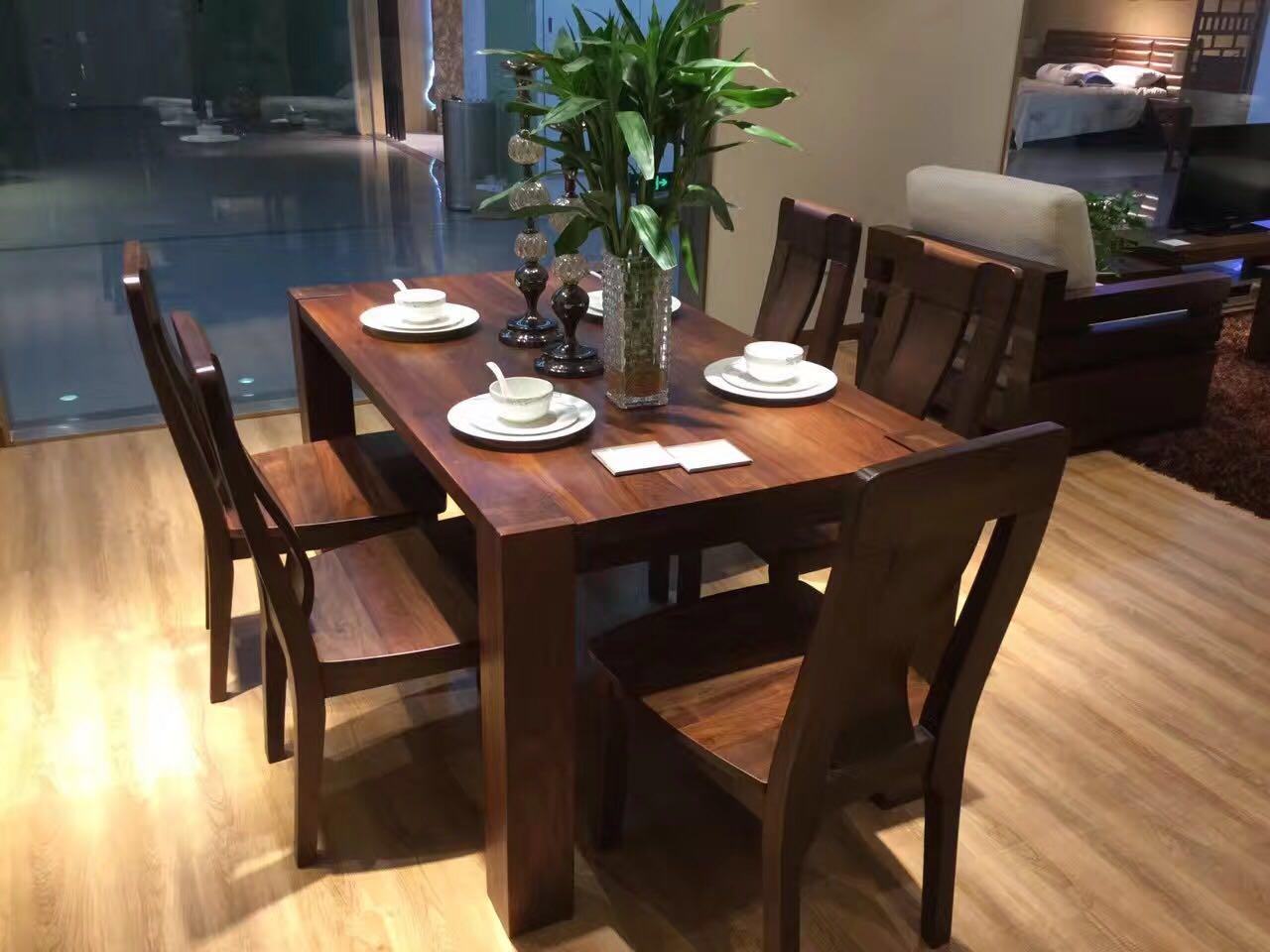 口碑好北美黑胡桃餐臺多少錢 和諧共贏「上海名格木業供應」