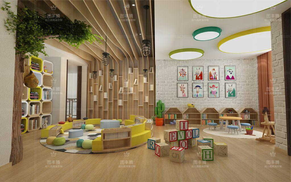 幼儿园装修设计,风格只有适合才是比较好的!幼儿园设计本来就是随着园区因素风格变幻不同,在设计的时候,不仅要考虑园所的预算和面积,最重要的是还要考虑到幼儿,幼儿园的服务对象就是幼儿,幼儿的成长离不开良好的环境,所以,在为幼儿园装修设计的时候,应当遵循相应的原则问题来进行装修。