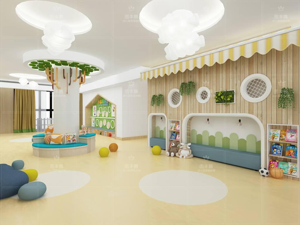 安阳高端幼儿园装饰哪家专业,高端幼儿园装饰