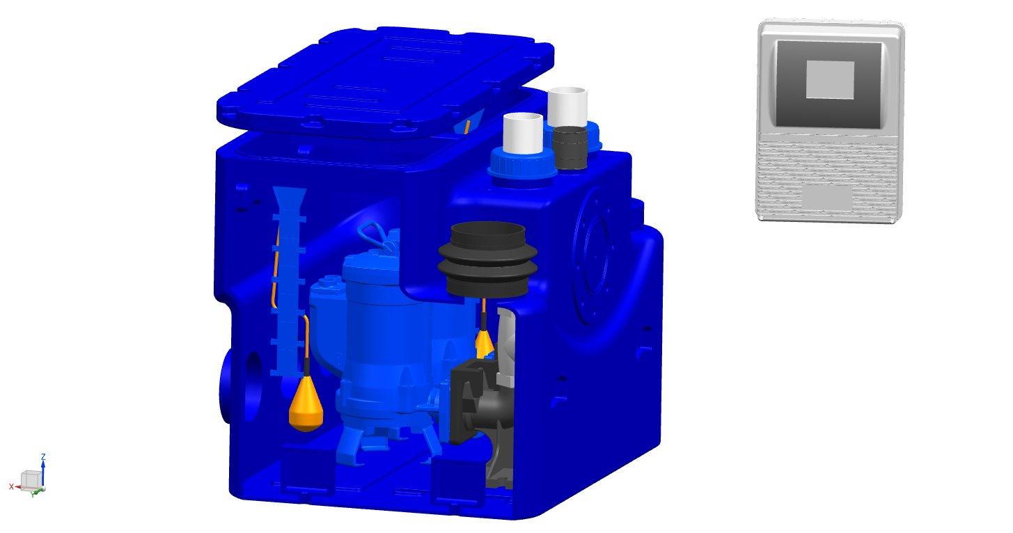 山东正品PE污水提升器需要多少钱 值得信赖 上海虔丞环保设备供应