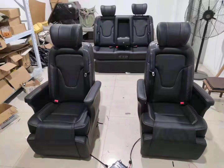 姑苏奔驰V260款航空座椅工厂 苏州正邦房车内饰供应
