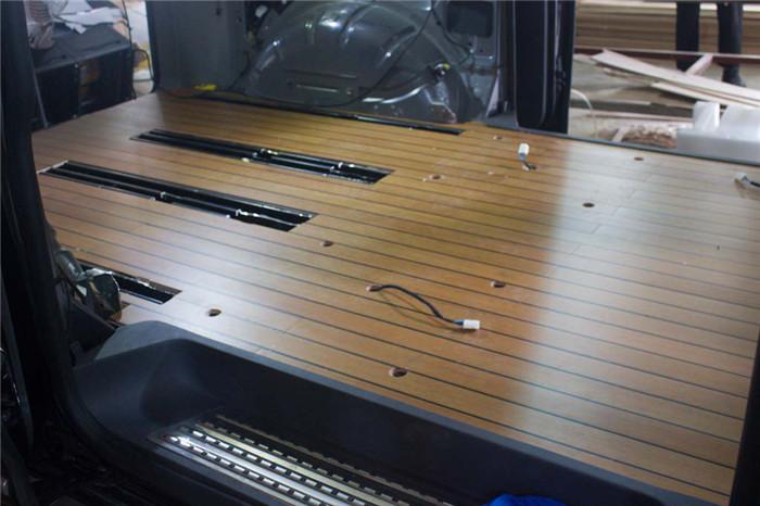 高新区大众迈特威木地板改装升级 苏州正邦房车内饰供应