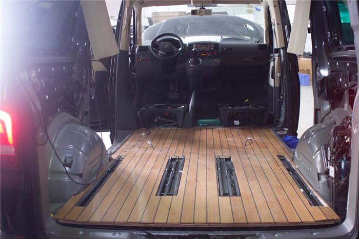 工业园区大众迈特威木地板改装定做 苏州正邦房车内饰供应