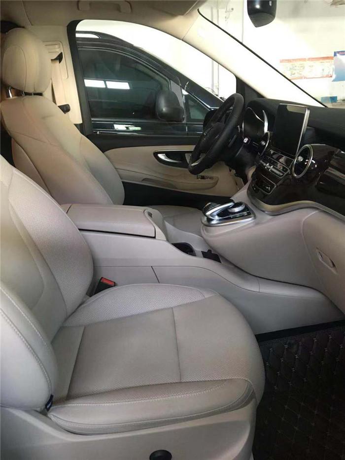 相城奔驰V260L改装中心「苏州正邦房车内饰供应」