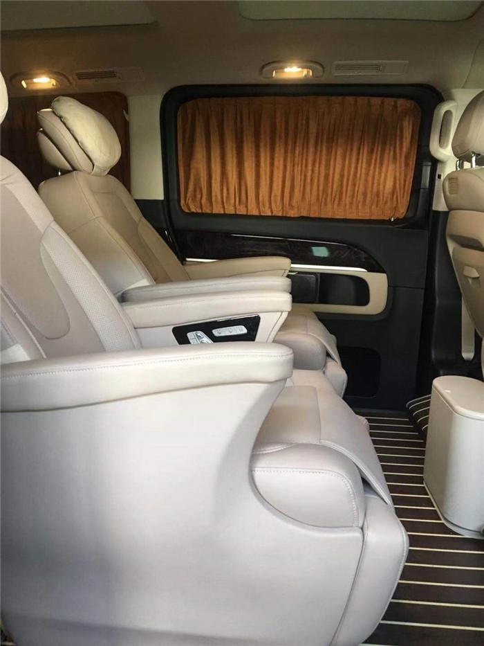 苏州奔驰V260L改装定制 苏州正邦房车内饰供应