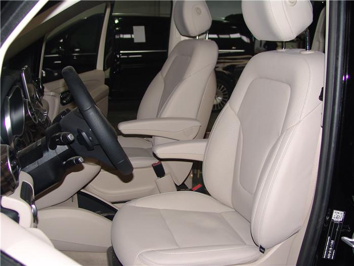 苏州园区奔驰V260米色内饰改装价格 苏州正邦房车内饰供应