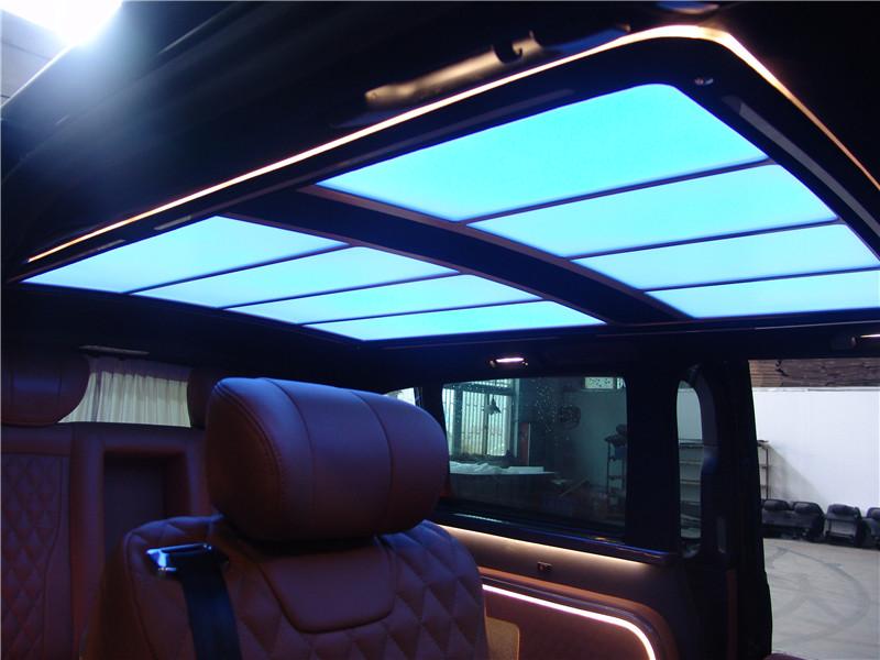 常熟奔驰V250改装价格 苏州正邦房车内饰供应