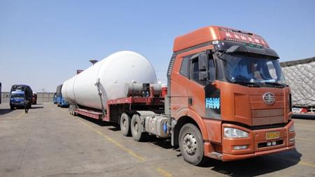 上海至呼伦贝尔大件货物公路运输 铸造辉煌 上海佳合国际物流供应