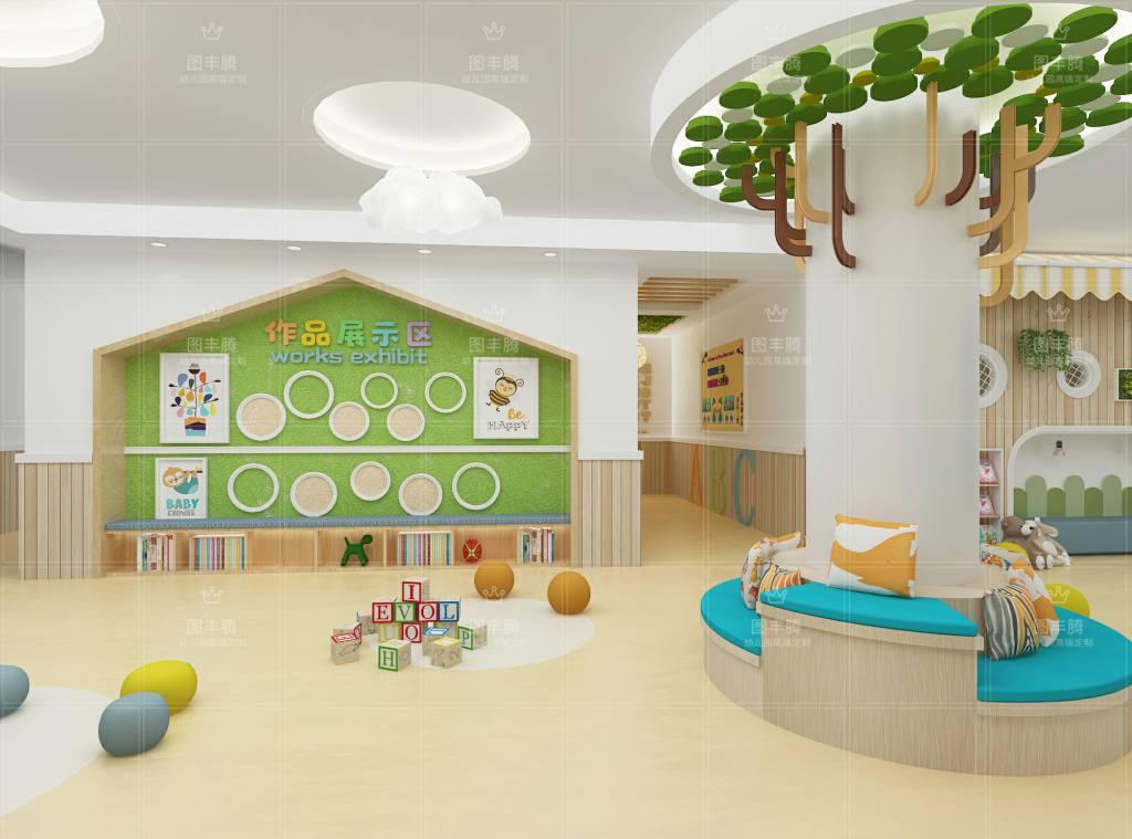 煙臺專業幼兒園室內外裝修高品質的選擇 客戶至上「臨沂圖豐騰裝飾