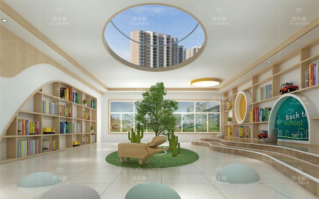 空间布局,是室内合理装修的基础,幼儿园空间的布局同样如此.图片