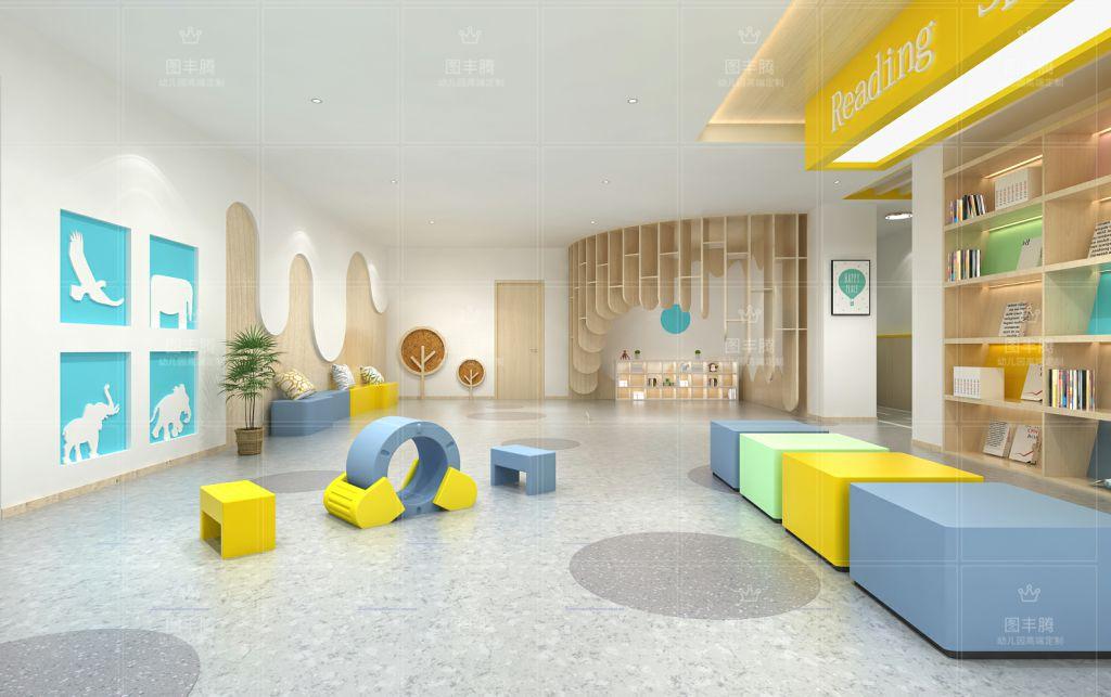 幼儿园大厅装饰高端幼儿园装饰,幼儿空间设计,专业幼儿园室内外装修