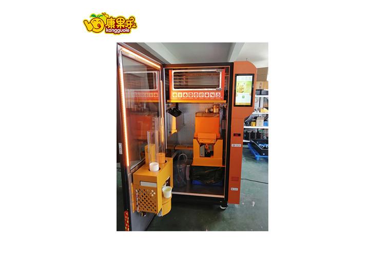 上海鲜榨橙汁售货机报价 创造辉煌「上海康果智能科技供应」