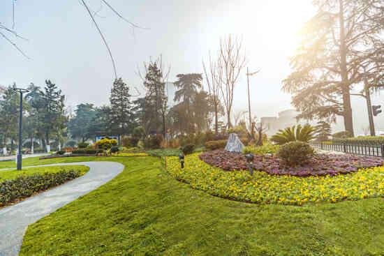 南京园林绿化报价,园林
