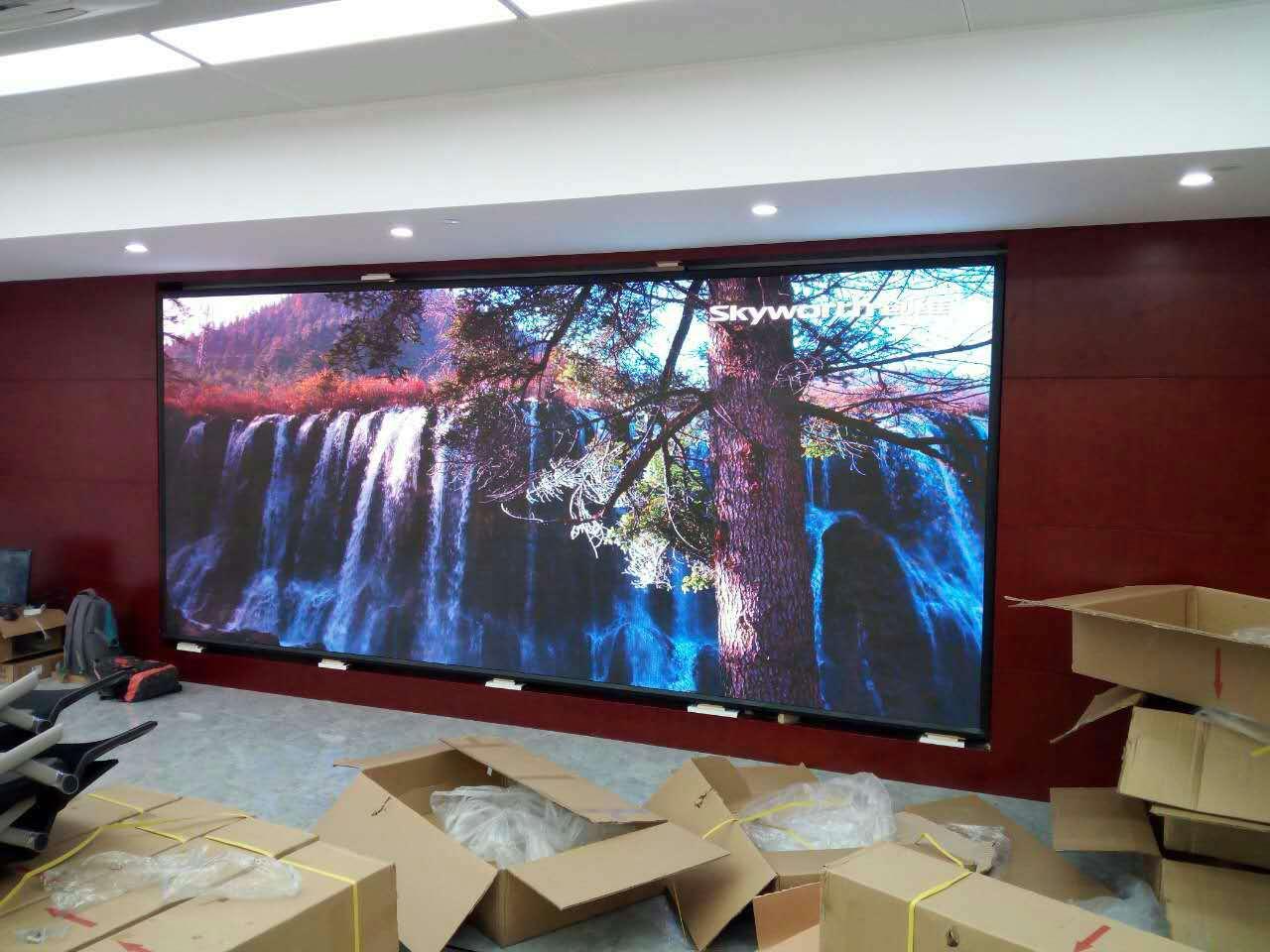 铜陵广告传媒LED显示屏品牌企业 和谐共赢 合肥龙发智能科技供应