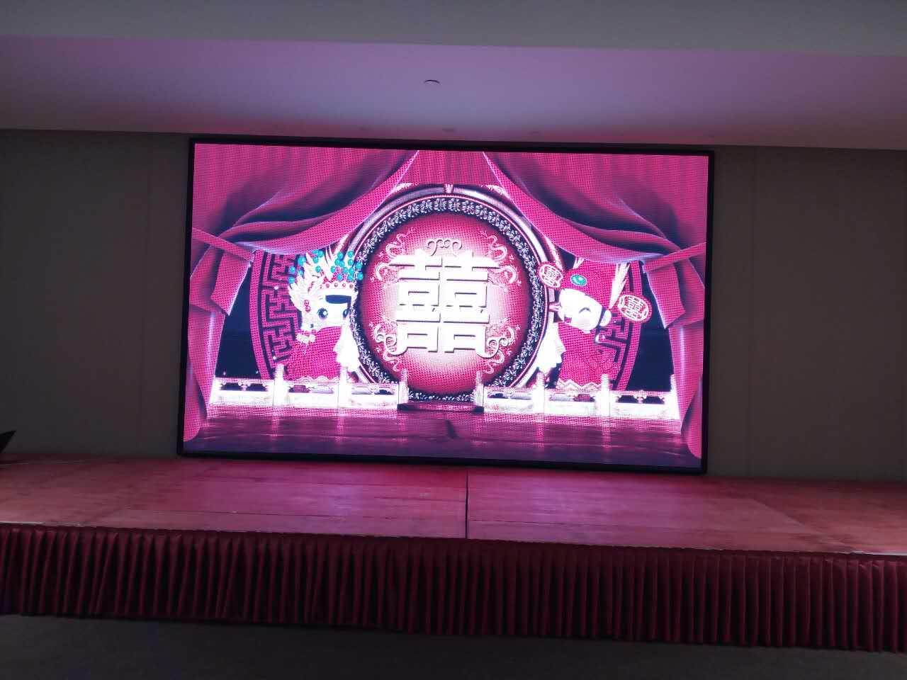 芜湖全彩LED显示屏厂家供应 服务为先 合肥龙发智能科技供应