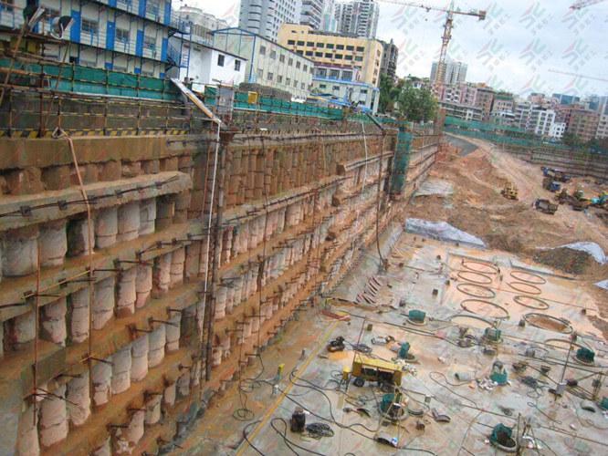 济宁建筑基坑支护安装,基坑支护