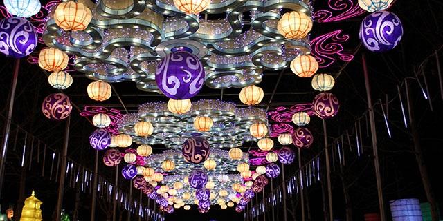 莱芜春节花灯节「淄博灯邦文化传播供应」