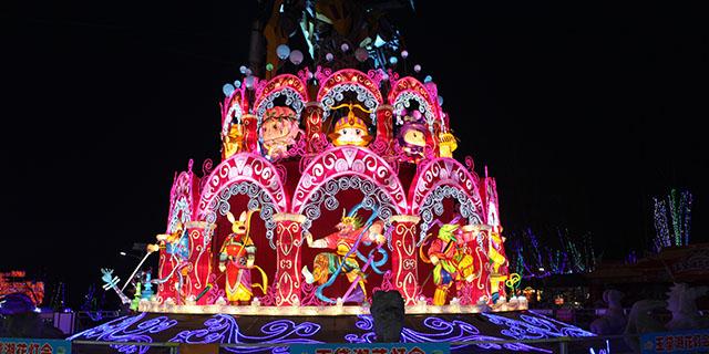 泰安创意彩灯厂家「淄博灯邦文化传播供应」
