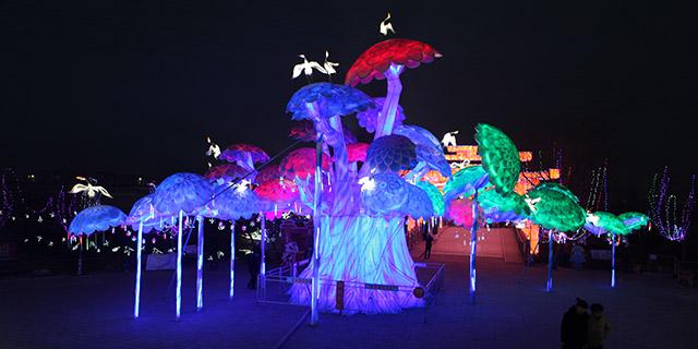 东营卡通彩灯展出「淄博灯邦文化传播供应」
