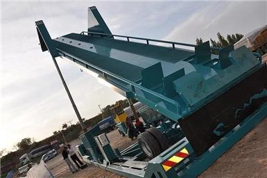 湖南集装箱卸料平台的用途和特点