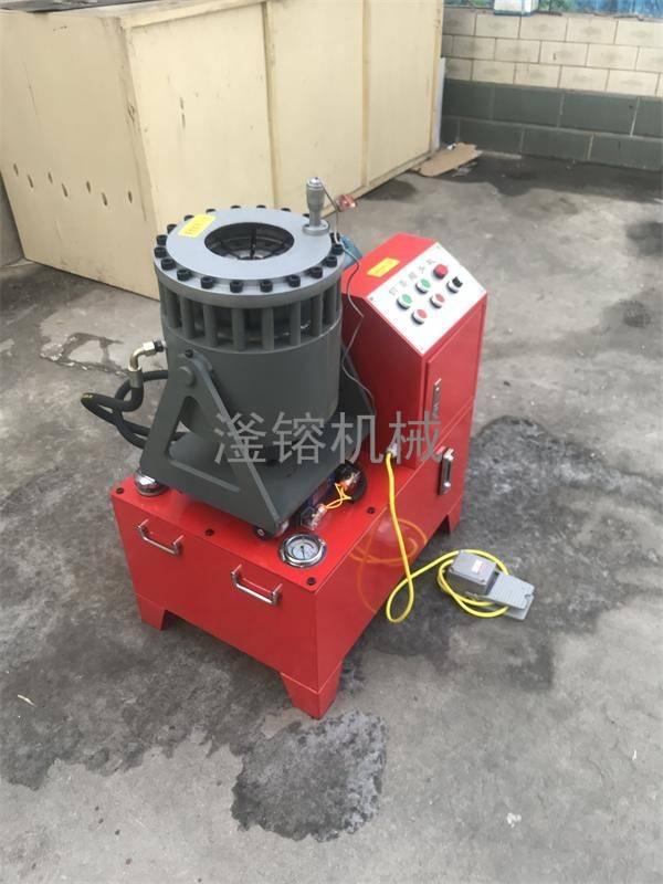 不锈钢管缩头机原理图 任县滏镕机床供应