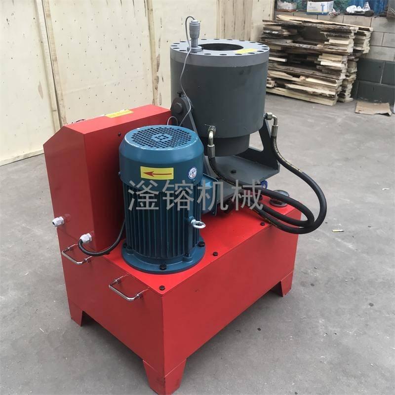 钢管压槽机200管怎么压 任县滏镕机床供应