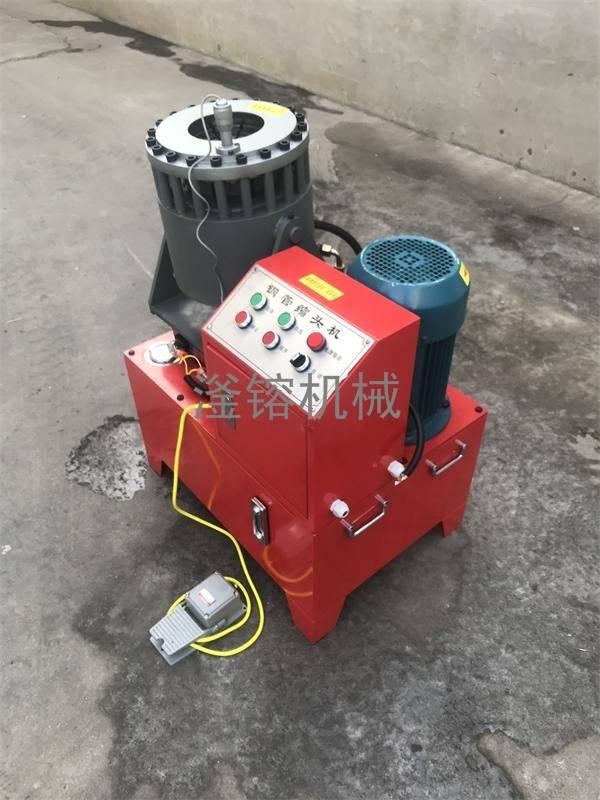 钢管压管机价格5000元 任县滏镕机床供应