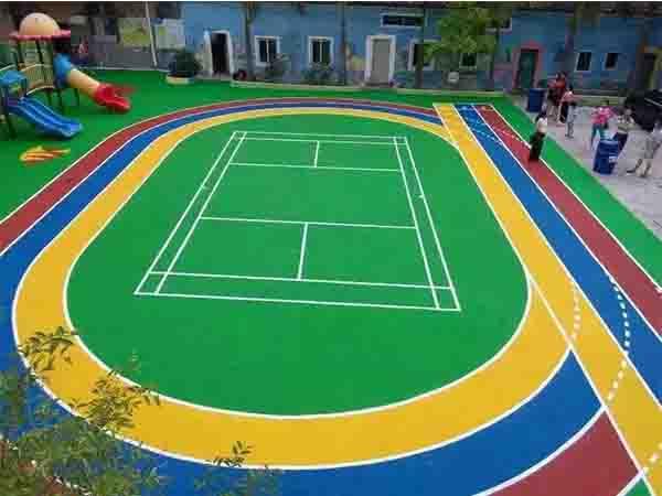 福建結紋型塑膠跑道施工 福建健業體育設施工程供應