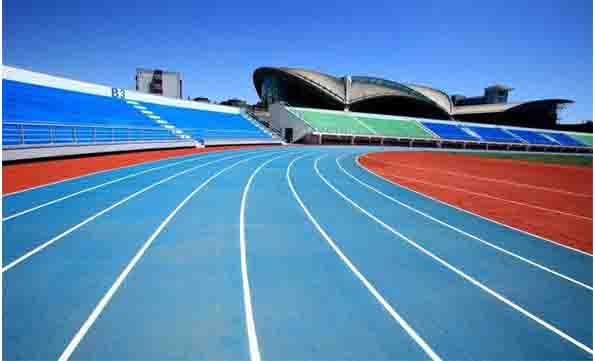 福建自结纹塑胶跑道施工 福建健业体育设施工程供应