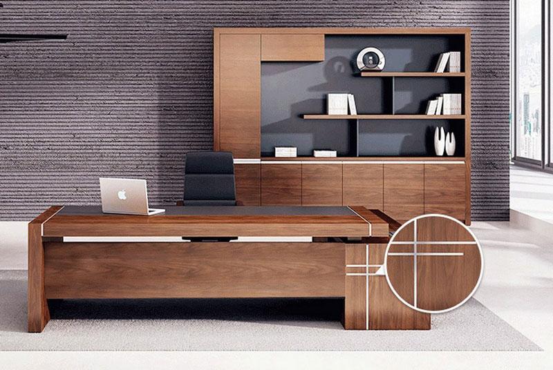 实木大班台上门设计 欢迎咨询「杭州黎格办公家具供应」
