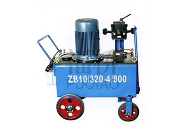 ZB4-600H型电动油泵厂家 真诚推荐 福桥预应力供应