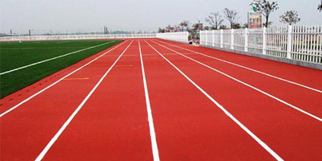 复合型塑胶跑道价格 湖北帝冠体育设施供应