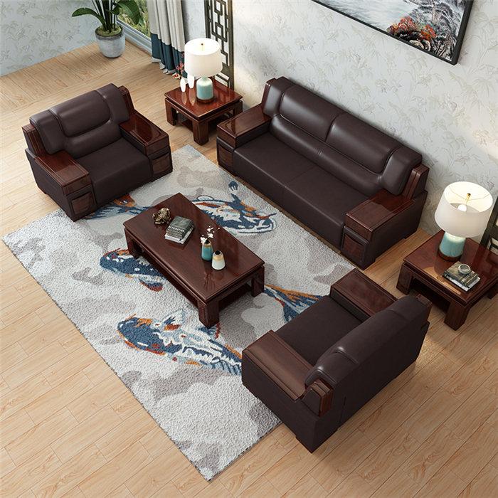 广州实木办公沙发全国发货,办公沙发