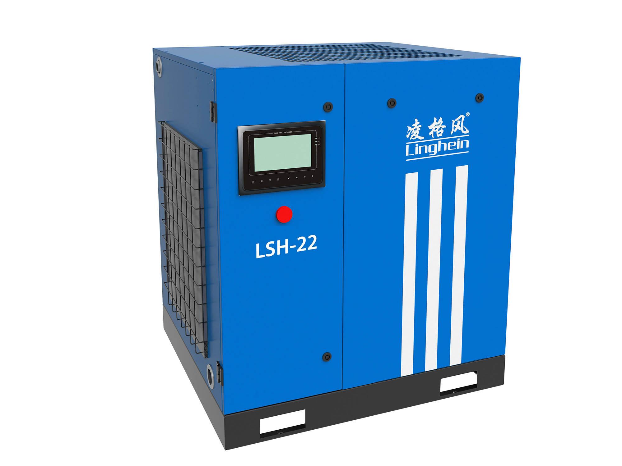 河北油冷永磁变频螺杆空压机 创造辉煌 上海凌格风气体技术供应