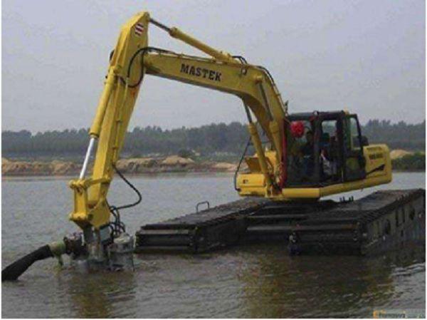 双牌水陆两用挖掘机出租,挖掘机