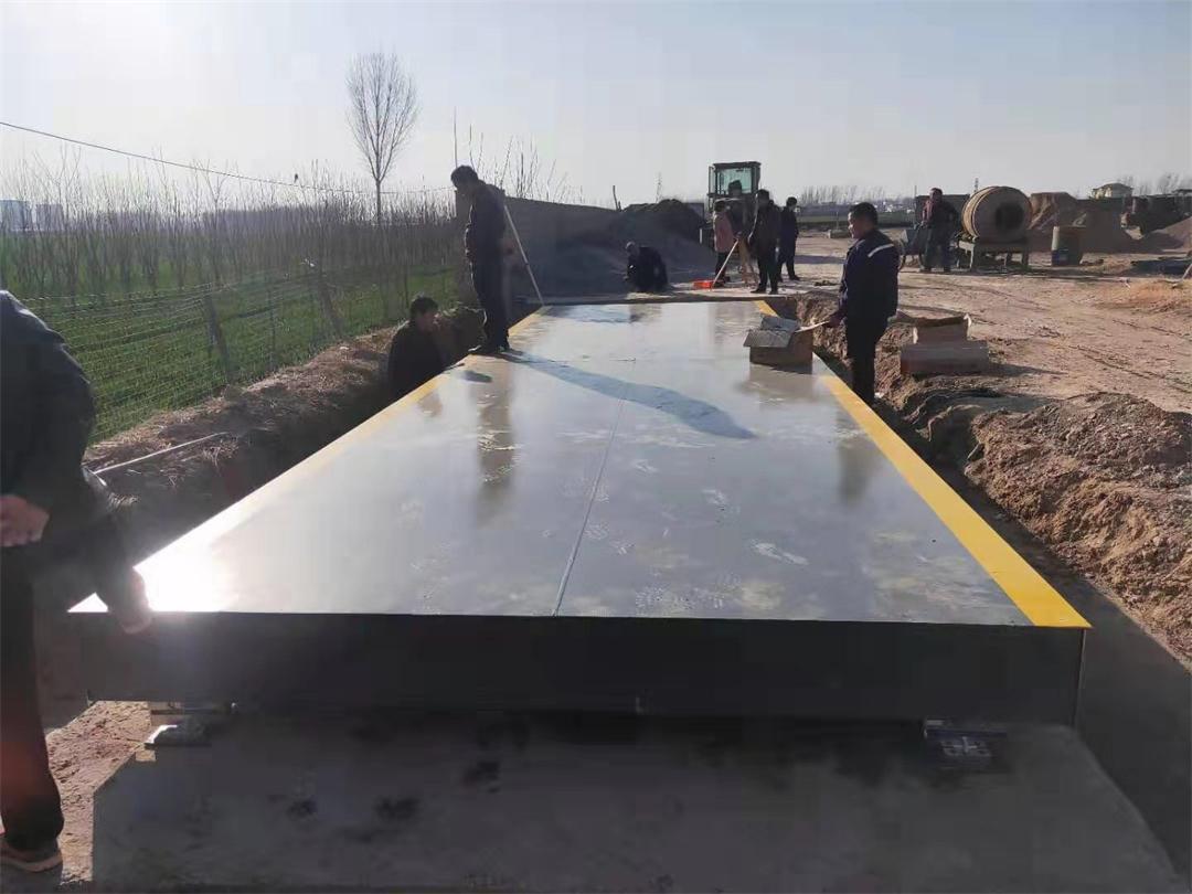 山西80吨地磅秤多少钱一台 河南东鑫衡器设备供应