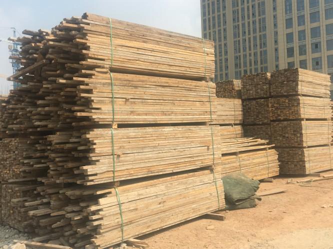 泰州专业二手木材回收 来电咨询 合肥戎淼建材供应