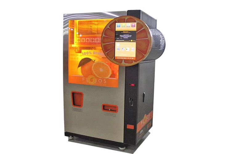 杭州自动鲜榨橙汁自动售货机 诚信经营「上海康果智能科技供应」