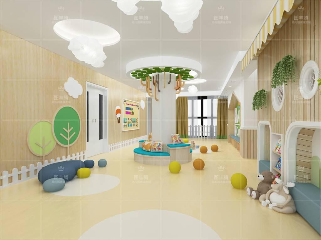 浙江知名专业幼儿园室内外装修诚信企业推荐 贴心服务图片