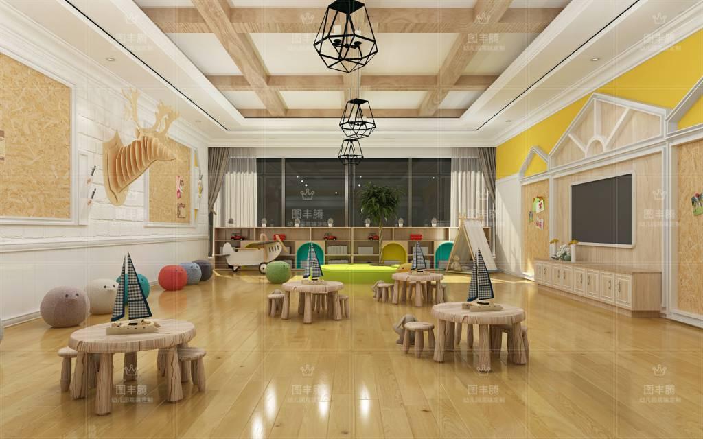 在幼儿园室内设计上有这说明自己的独特民宿.风格室内设计平面图手设计绘图属于图片