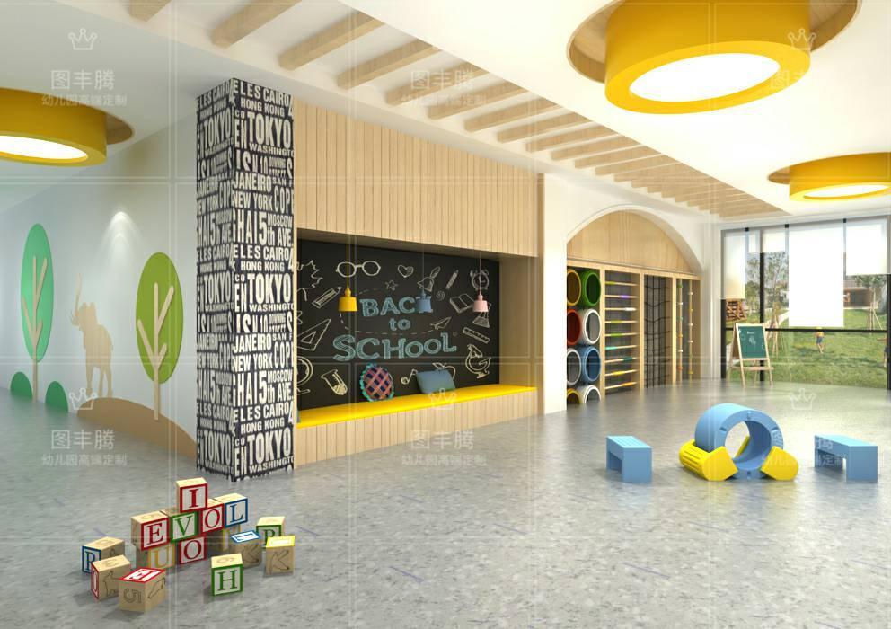白银口碑好幼儿园大厅装饰服务介绍 诚信为本「临沂图